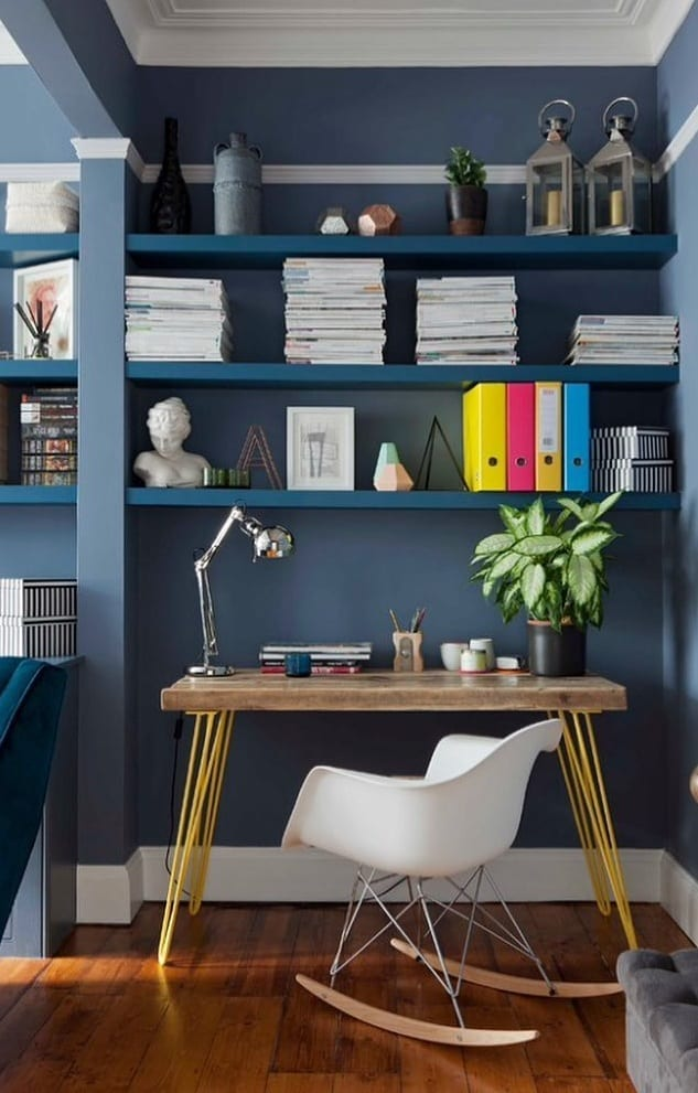 Simple yet Comfortable Home Office Ideas
