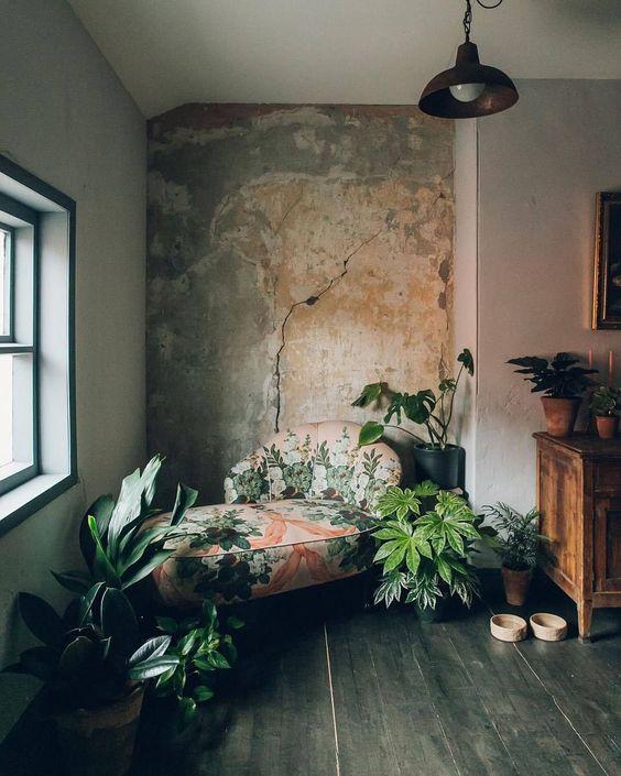 17. Beautiful wabi-sabi corner cool and calming