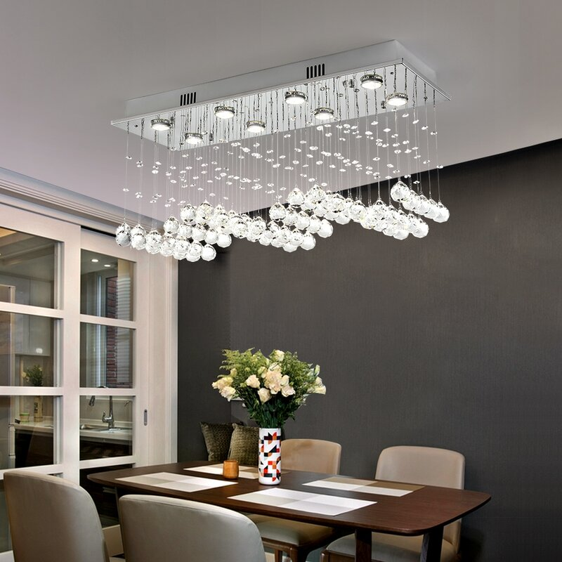 Crystal Chandeliers To Enhance the beauty of your Dining Space