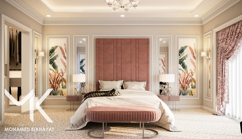 Modern and Minimal design ideas for master bedroom