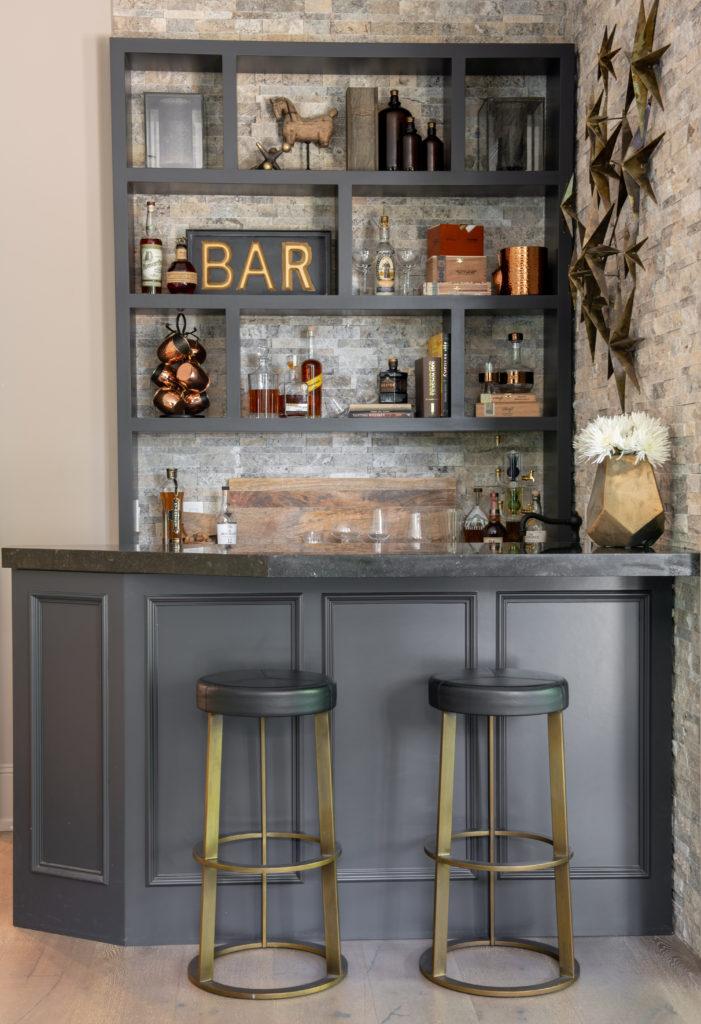 Simply Stylish Grey Bar Home Decor 2021