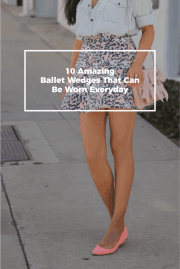 10 Amazing Ballet Wedges That Can Be Worn Everyday