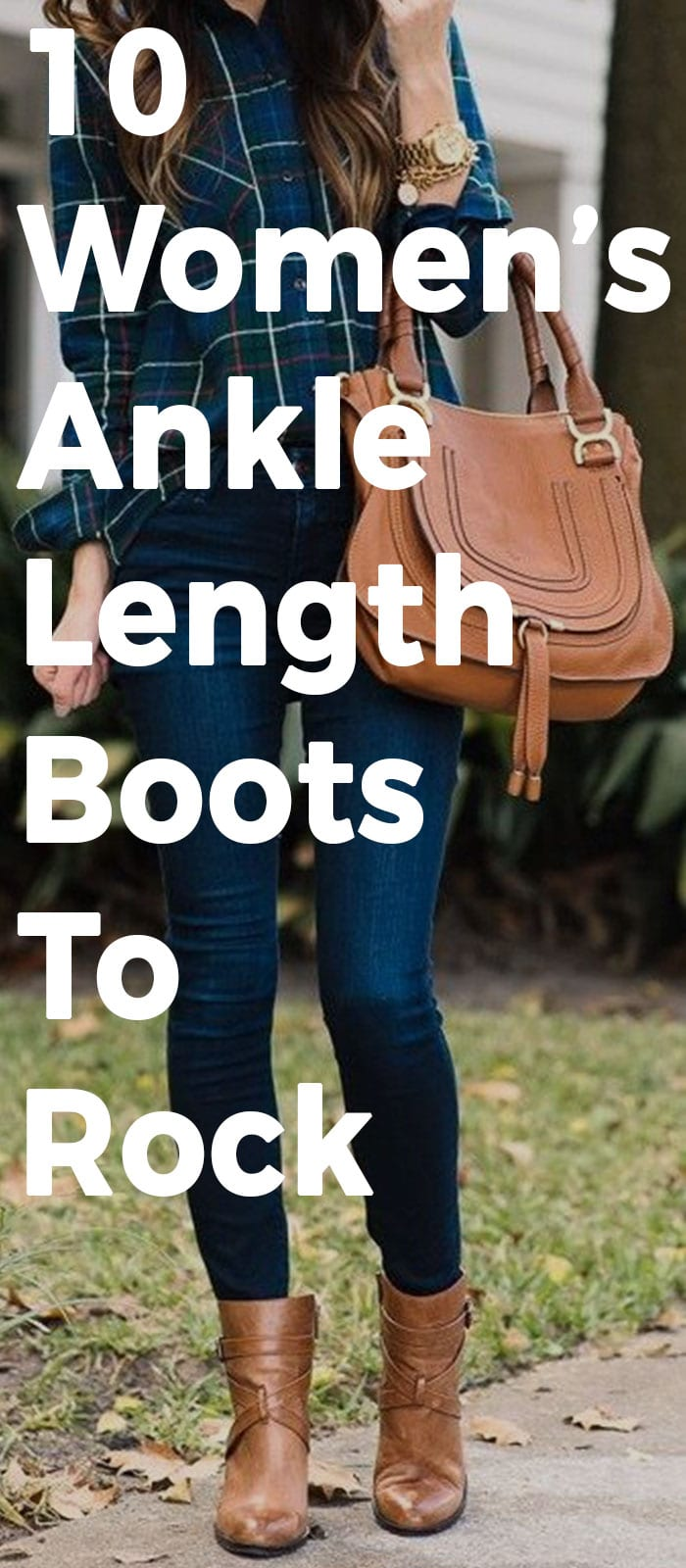 10 Women's Ankle Length Boots That Will Rock Any Outfit!
