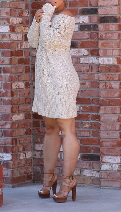 style heels with casual dress