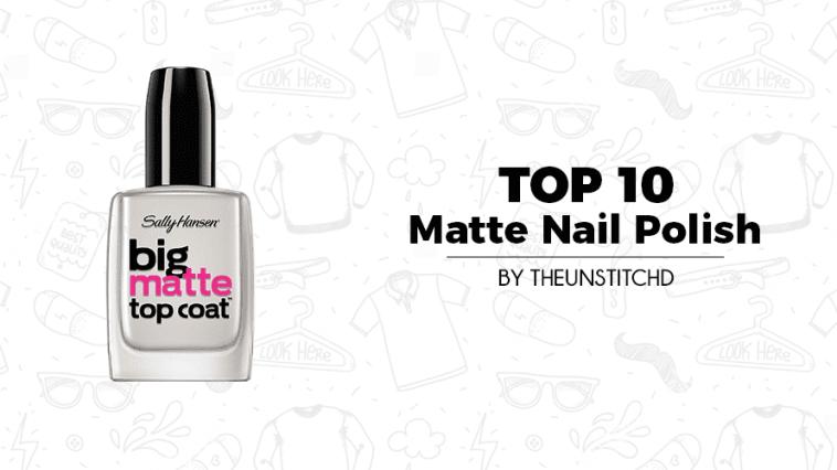 Top 10 Best Matte Nail Polish for Women
