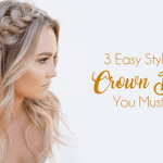 3 Easy Styles Of Crown Braid You Must Try