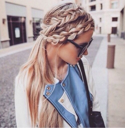 double sided braided sleek