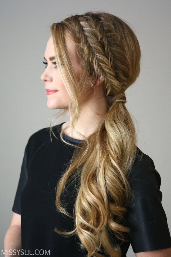 double sided braided