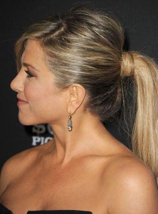 jennifer anniston's ponytail