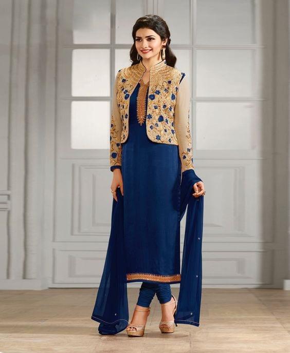 Chudidar Suit for Sangeet