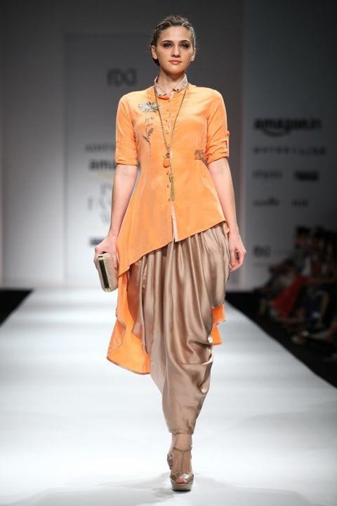 Dhoti Pants for Haldi