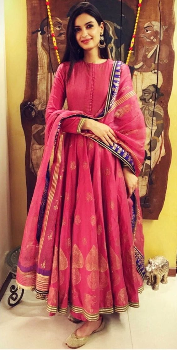 Diana anarkali dress designs in 2018-19
