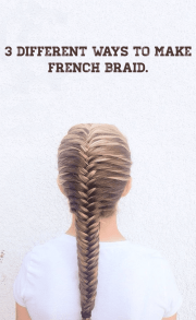 3 Different Ways To Make French Braid
