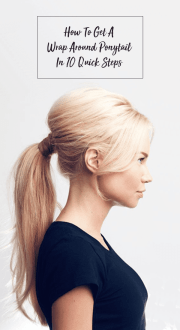 How To Get A Wrap Around Ponytail In 10 Quick Steps