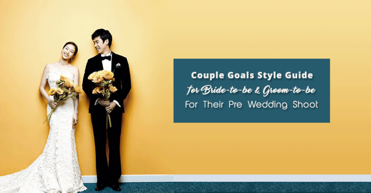 Get Ready For A Stylish Pre-Wedding Photoshoot Ever!