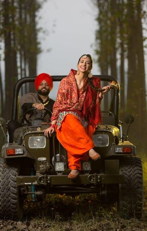 Pre wedding Photo Shoot in salwar suit