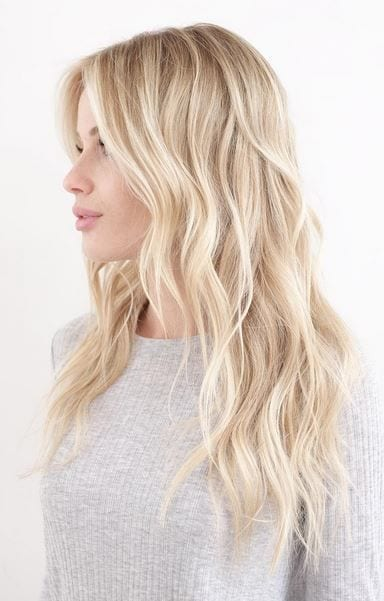 beach waves white girl