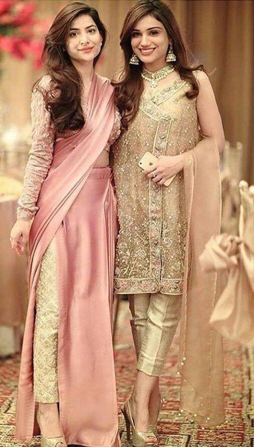 cigarette pants - 2 outfits saree + kurti