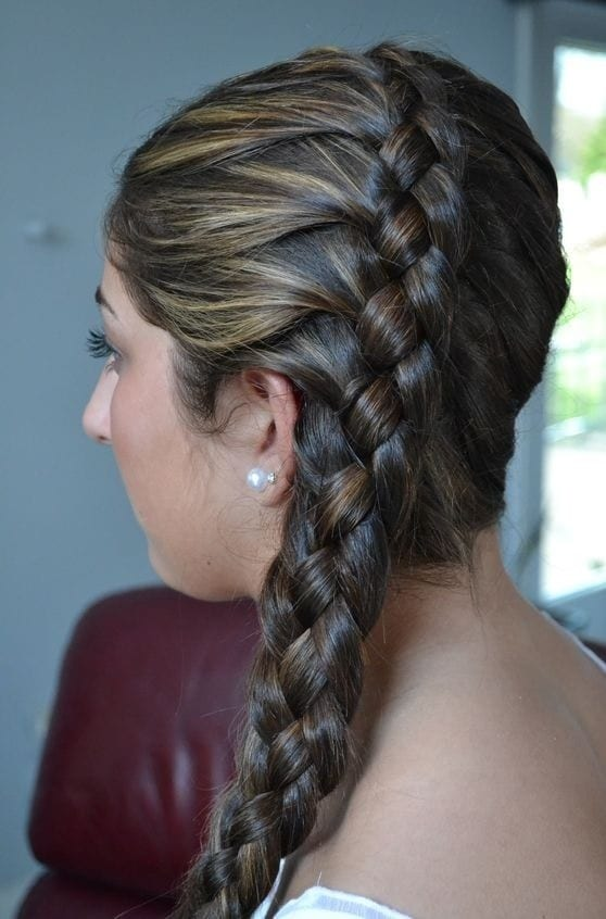 for strand braid long hair