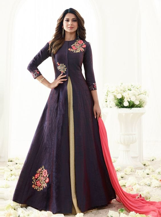 jenifer winget anarkali suit