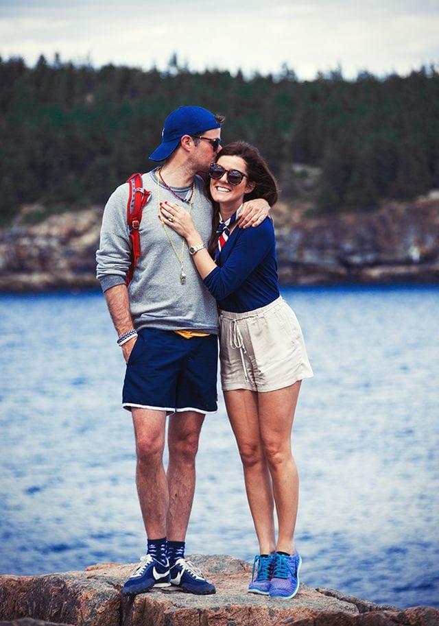 pre wedding photo shoot in shorts