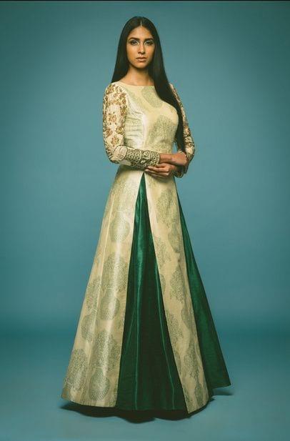 skirt with kurta for mehendi