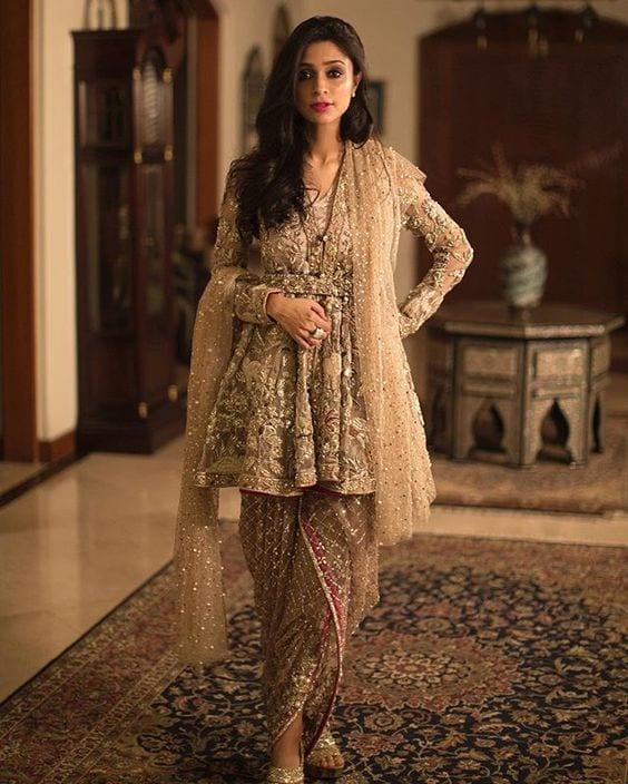 wedding style dhoti pants with kurta