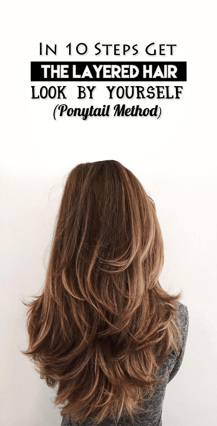 5 ways you can style your layered hairstyle the right way in 10 steps get the layered hair look by yourself solutioingenieria Choice Image