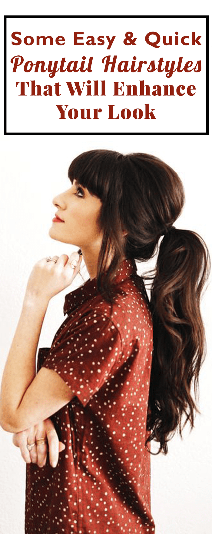 Some Easy & Quick Ponytail Hairstyles
