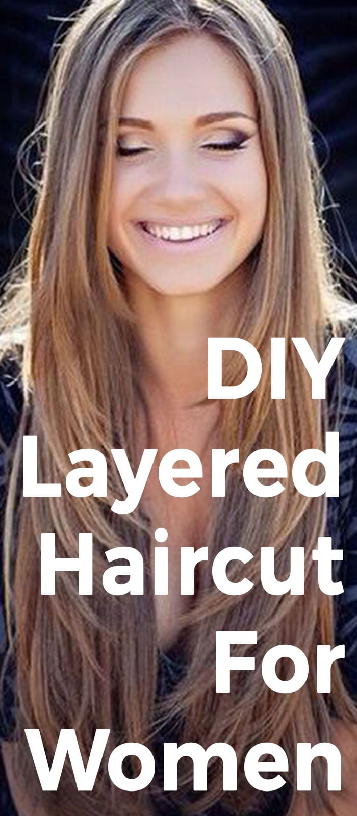 DIY Layered Haircut For Women