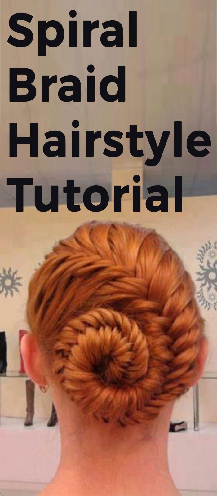 Spiral Braid Hairstyle Tutorial