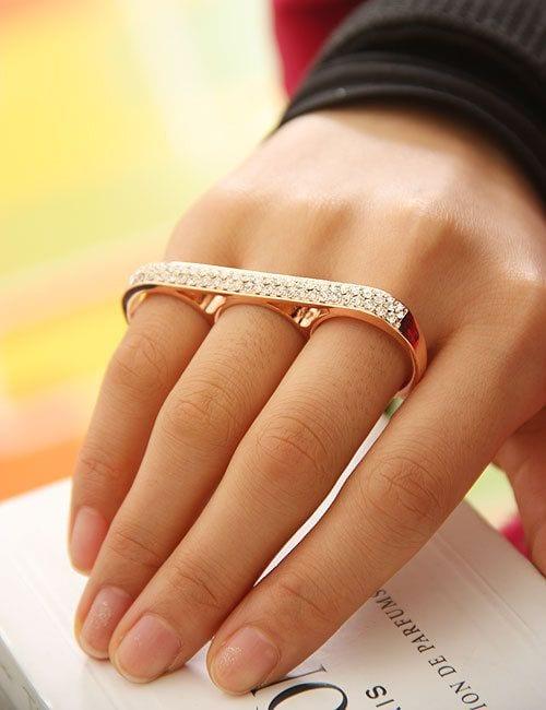 multi finger rings