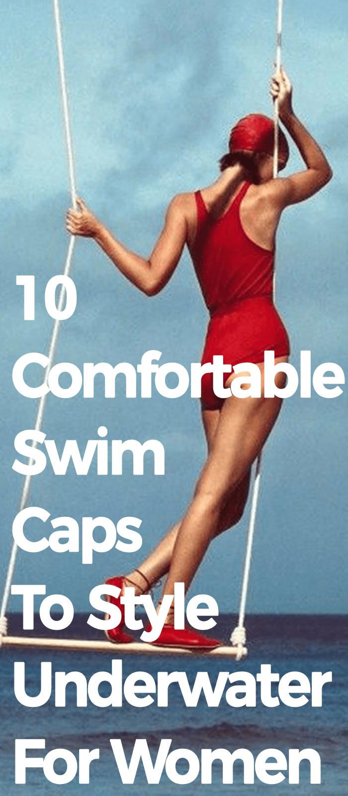 10 Comfortable swim caps to style underwater for women