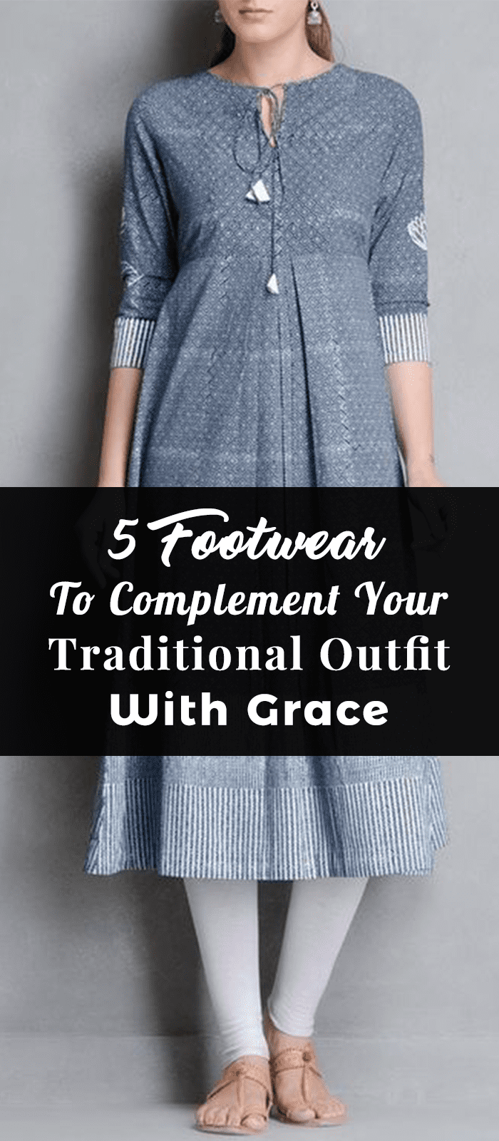 5 Footwear To Complement Your Traditional Outfit With Grace