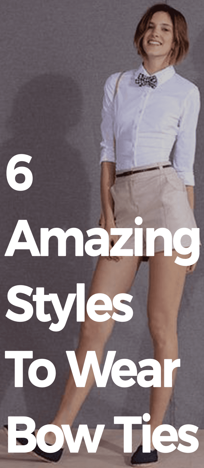 6 Amazing Styles To Wear Bow Ties!