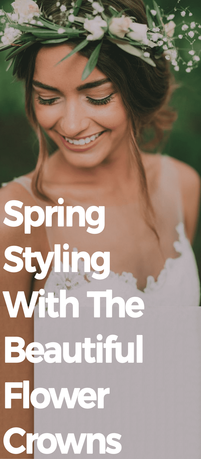 Spring Styling With The Beautiful Flower Crown