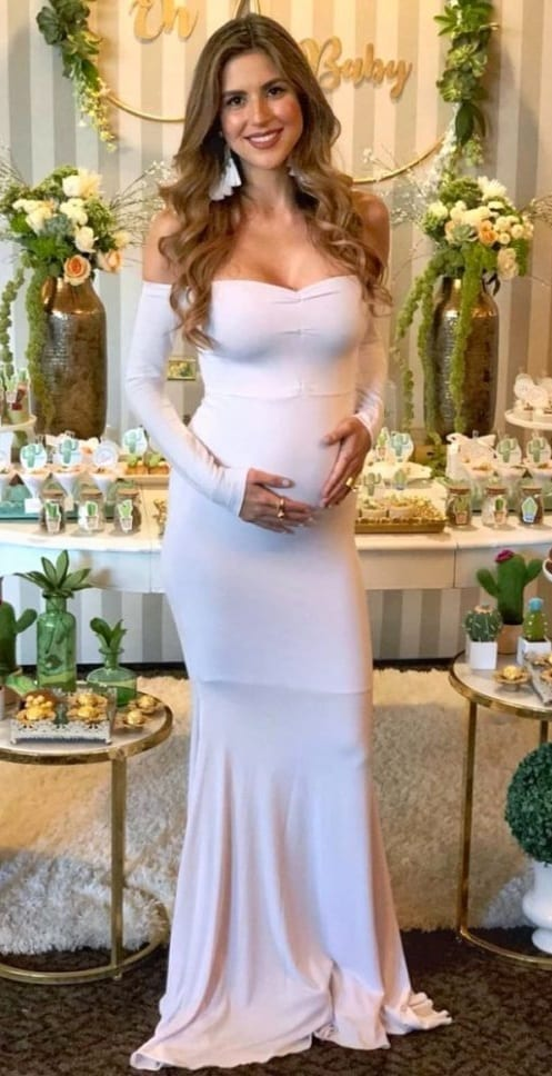 baby shower gown