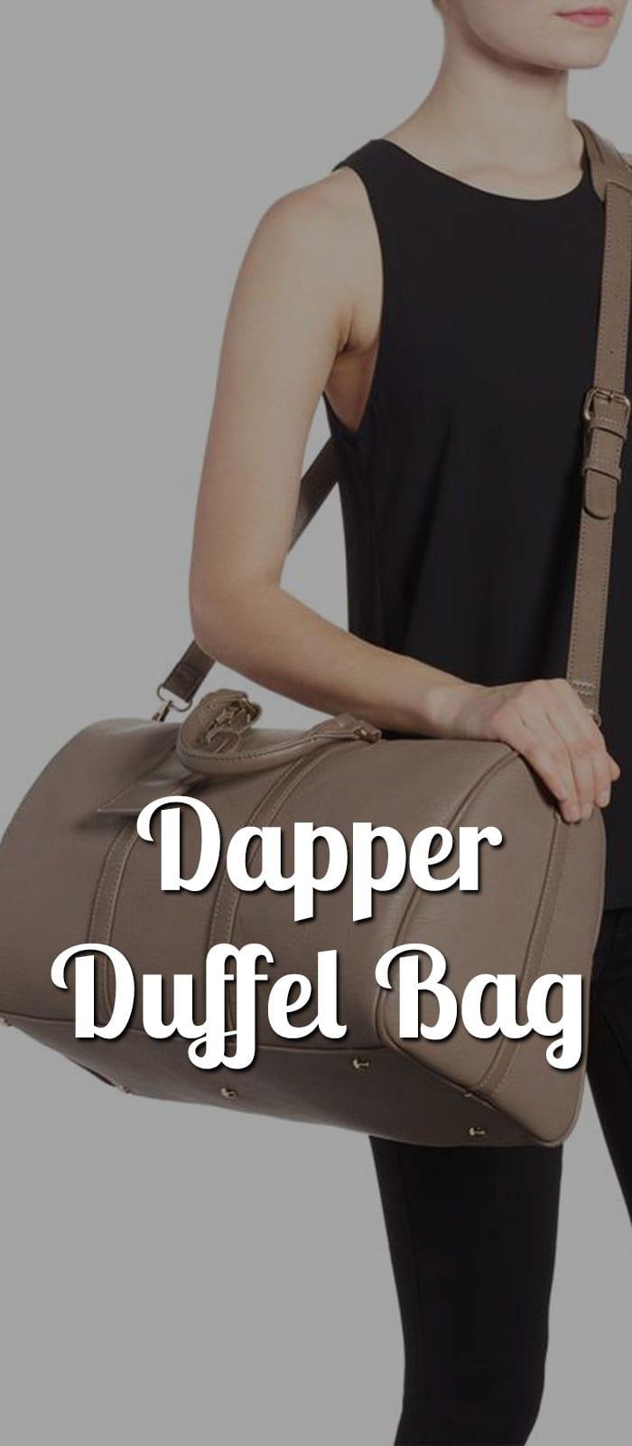 dapper duffel bags