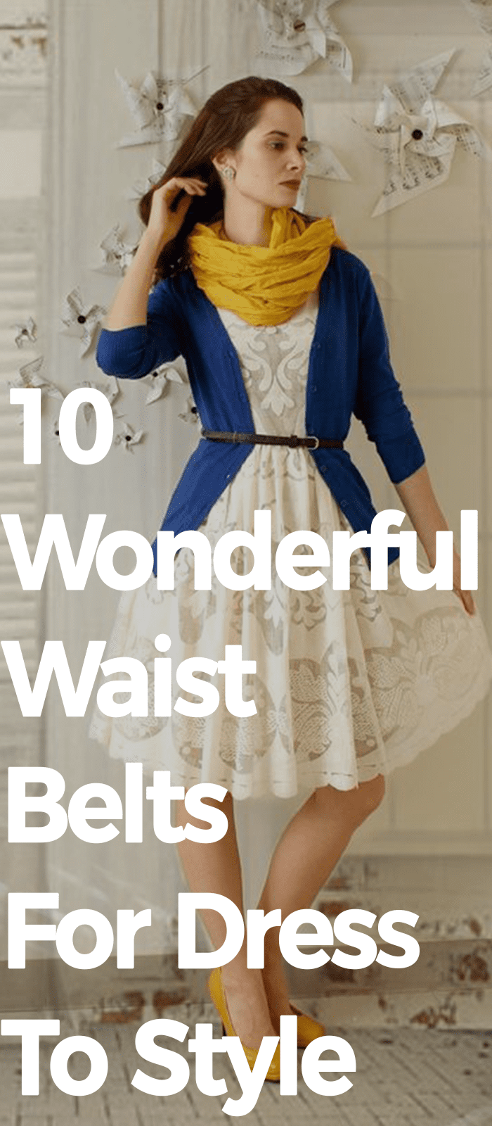 10 Wonderful Waist Belts For Dress To Style!