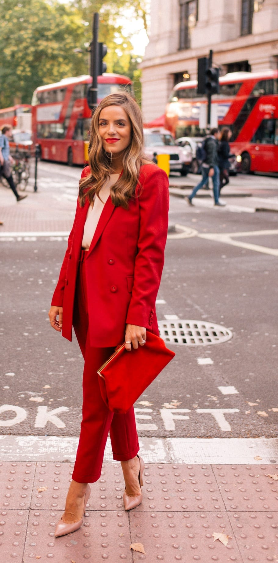 Women's-Red-Suit-Outfit