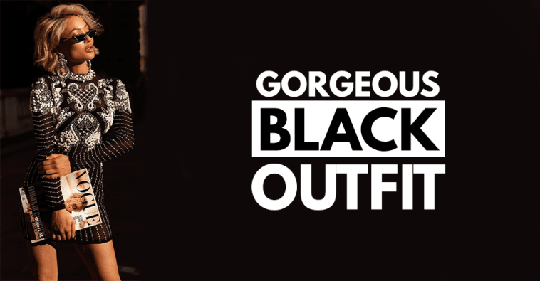 20 Gorgeous Black Outfit Ideas for Women