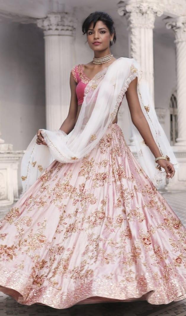 Pink Lehenga Outfit Ideas