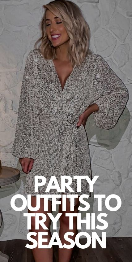Party Outfit Ideas To Try This Season