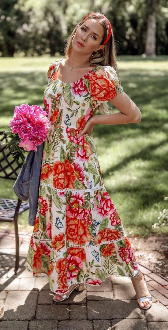 Floral Outfits for Women