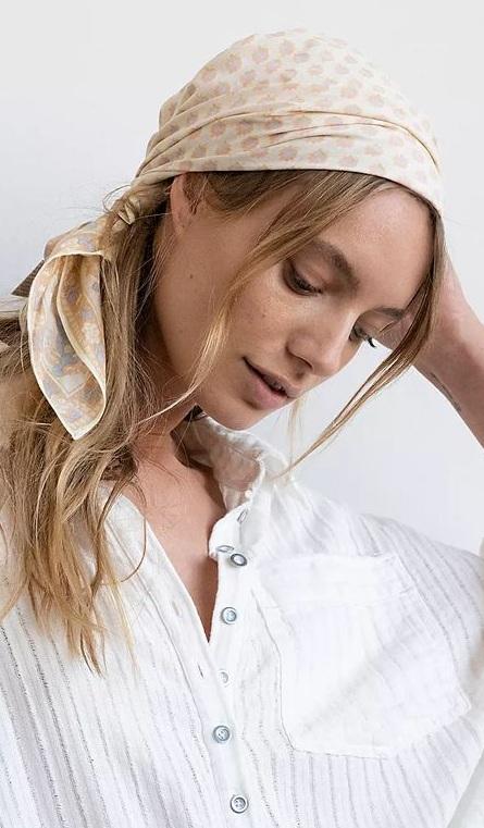 Bandana in Hair- How To Style Bandana This Summer