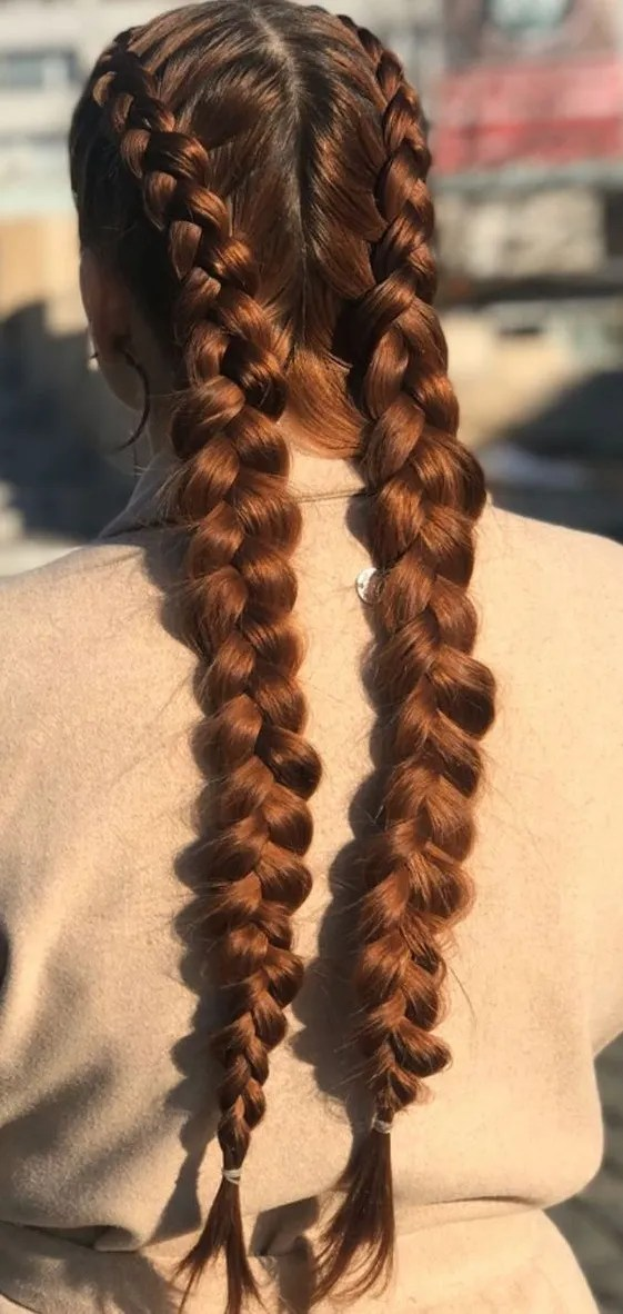 Cute Braid Hairstyles for Long and Thick Hair