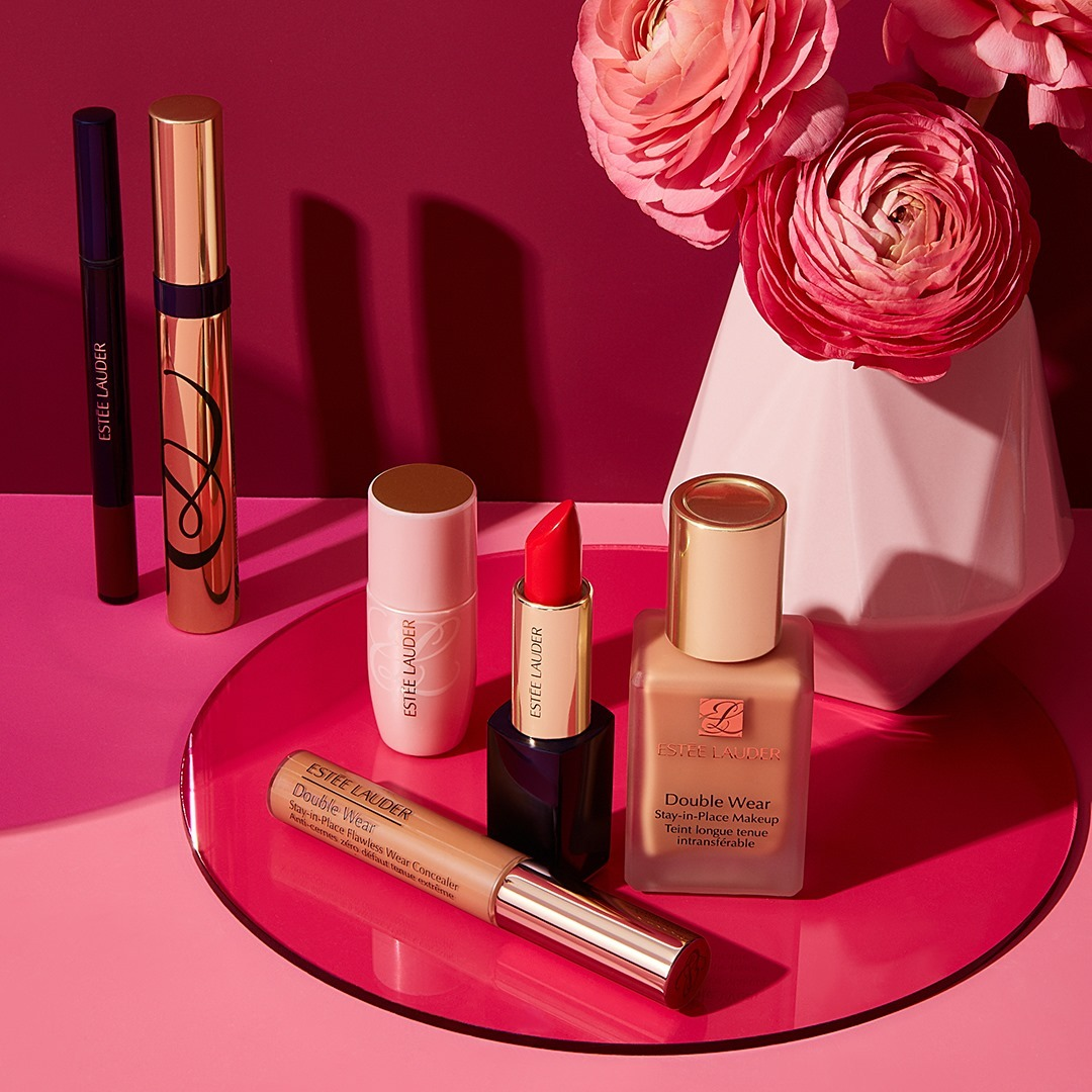 Bright and Pretty Lipsticks and Foundations from Estee Lauder