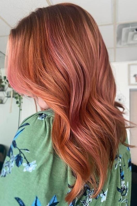 Pretty Copper Hair color Trends for 2021