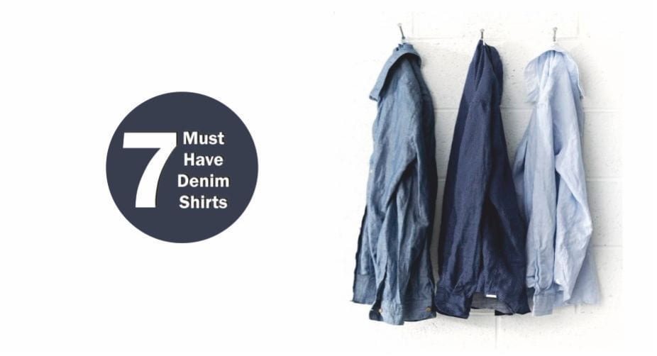 7 Denim Shirts To Make You Look Smart & Casual