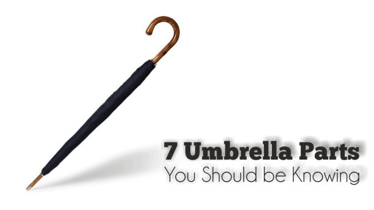 7 Umbrella Parts You Should Know